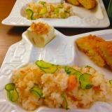 鮭フレークで簡単ちらし寿司★
