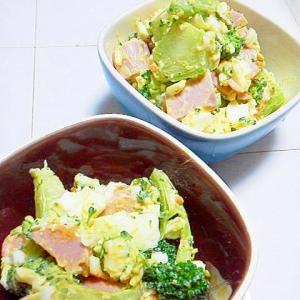 ブロッコリーと卵のサラダ