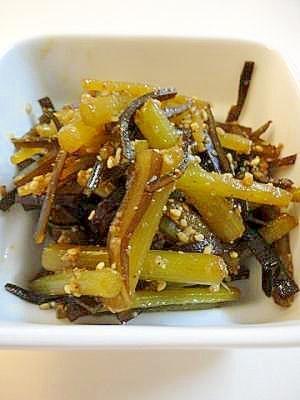 ご飯がすすむ フキと昆布の炒め煮