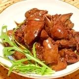 妄想居酒屋OPEN☆鶏レバーの黒酢煮