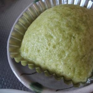 抹茶練乳蒸しパン