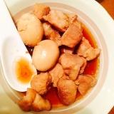 炊飯器使用☆卵と豚の角煮