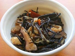 油炒めなし❤切干大根&ひじきの煮物♪(+味噌)