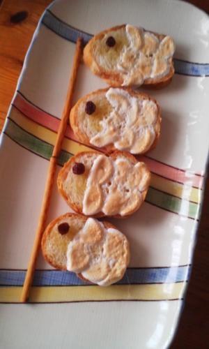 こどもの日に♪こいのぼりマシュマロトースト