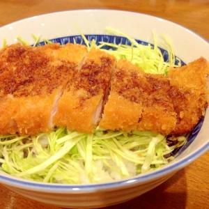 ガッツリ食べよう!ソースカツ丼