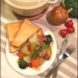 オーブンで楽々♪ハニーローズマリーぎゅうぎゅう焼き