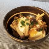 ♪麺つゆで簡単♡豆腐のしめじ餡♪