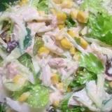 ツナとコーンのサラダ