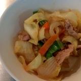 塩麹で*肉野菜炒め