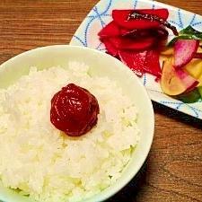米粒が立った!美味しいご飯