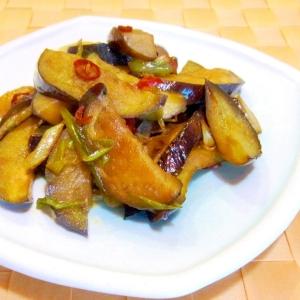 お弁当に★茄子のピリ辛炒め