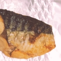 フライパンで塩サバのポン酢焼