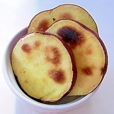 オーブントースターでほっこり焼き芋
