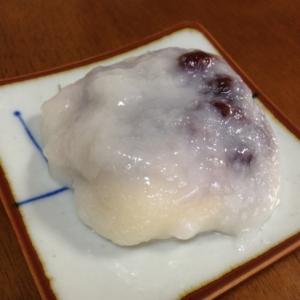 レンジ餅*クリームチーズとあんこ