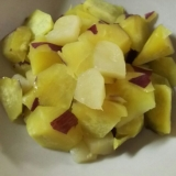 簡単☆煮るだけ♪さつまいも&りんご