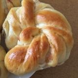 いちじくジャムの折り込みパン