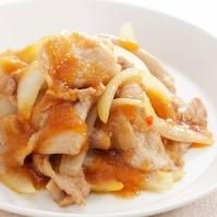 豚肉と玉ねぎのおろし炒め