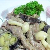 牛肉と茄子の味噌炒め