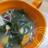 さつま揚げ中華風スープ