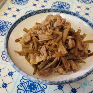 【材料3つ!誰でも簡単☆】牛肉とごぼうのすき焼き煮