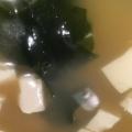 わかめと豆腐の味噌汁
