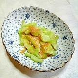 ☆はす芋の酢味噌かけ☆