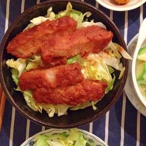 ソースかつ丼(会津風)
