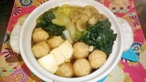 鍋のつゆ 醤油ベース