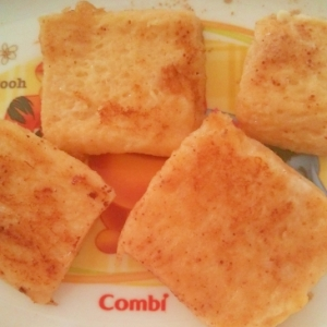 離乳食☆きなこフレンチトースト