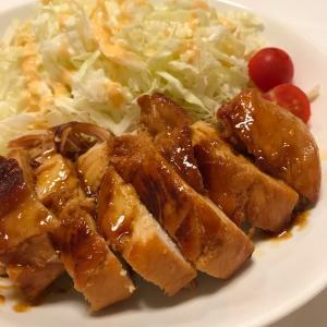鶏むね肉のバター醤油照り焼き