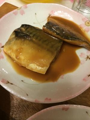 手軽に★塩サバでサバの味噌煮
