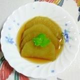 ヤーコンの生姜煮