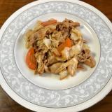 味噌で作る回鍋肉風☆豚肉野菜炒め