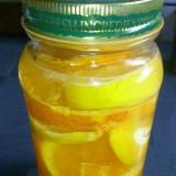 レモンとオレンジの日本酒漬け