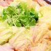 【食物繊維が豊富】白菜シャキシャキ鶏ごぼう鍋