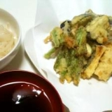 簡単!なすといんげんの天ぷら