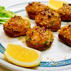 シイタケと味噌が相性抜群!椎茸のネギ味噌焼き