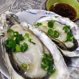 超簡単、殻付き牡蠣のレンチン蒸し