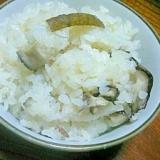 香る☆ごぼうと椎茸の炊き込み飯