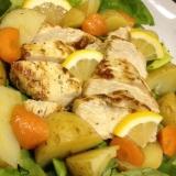 鶏むね肉でレモン塩チキン、お弁当やパンの具に