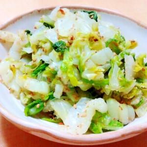 白菜のお浸し