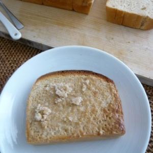くるみバターと砂糖がけトースト