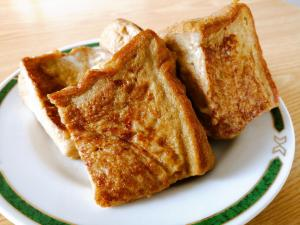 ミルクティーのフレンチトースト