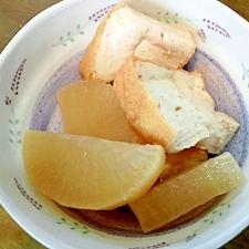 シンプル♡大根と厚揚げの煮物