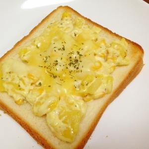 ポテトサラダで☆ポテサラチーズトースト