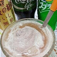 アイス☆午後のレモンコーラフロート♪