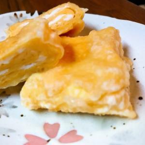 卵1個☆卵焼きの天ぷら