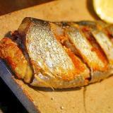 鰊のフライパン焼き*塩焼き