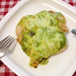 イタリア風チキン☆バジルチーズ焼き