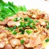 豚バラえのきの炒り煮【ポン酢で】